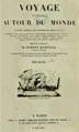 Dumont d'Urville - Voyage pittoresque autour du monde, résumé, titre Tome second, 1835.png