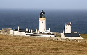 Dunnet Head lighthouse - The Dunnet Head lighthouse