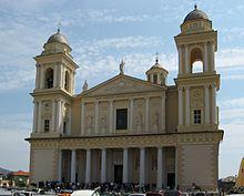 Il duomo di San Maurizio a Porto Maurizio