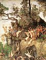 Durer, Martyrdom of the Ten Thousand 02.jpg
