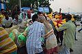 Durga Idol Immersion Procession - Baja Kadamtala Ghat - Kolkata 2015-10-22 6583.JPG