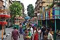 Durga Puja Spectators - Falguni Sangha - Suren Tagore Road - Kolkata 2014-10-02 8919.JPG