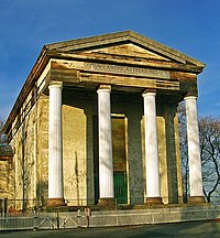 The Dutch Reformed Church, a National Historic Landmark.