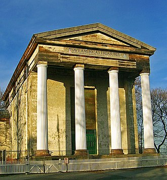 Dutch Reformed Church (Newburgh, New York) - The church in late 2006, with all four columns restored