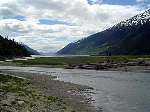 Chilkoot Trail - Dyea, head of Lynn Canal, 2005