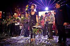 EBBA Awards 2012 -- Selah Sue wins Public Choice Award -- by Mike Breeuwer.jpg