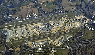 Heathrow in 2009, much expanded from its original layout. EI-DWI LHR (7079539739).jpg