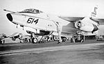 EKA-3B Skywarrior of VAQ-130 is launched from USS Independence (CV-62) c1973.jpg