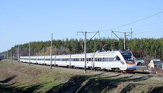 Rail transport in Ukraine - Image: E Kr 1 002