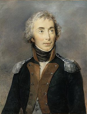 Emmanuel de Grouchy, marquis de Grouchy - Emmanuel de Grouchy as a colonel of the 2nd regiment of Dragoons in 1792.