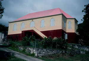 Coral Bay, U.S. Virgin Islands - Emmaus Moravian Church