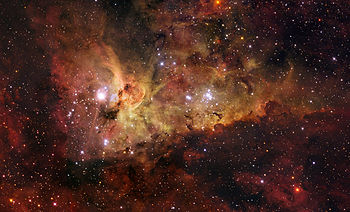 ESO - The Carina Nebula (by)