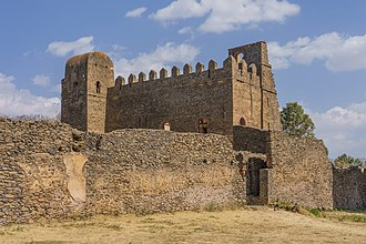Iyasu I - Iyasu's Palace in the Fasil Ghebbi, Gondar