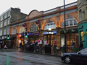 Earl's Court tube station - Eastern station entrance