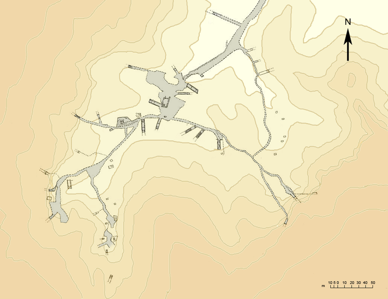 Datei:East Valley of the Kings Sketch Map (Topo).png