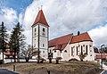 Eberndorf Kirchplatz 1 Augustinerchorherrenstift Pfarrkirche Mariae Himmelfahrt SO-Ansicht 28022017 6380.jpg