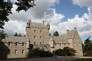 Cawdor Castle - Cawdor Castle from the east