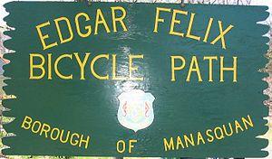 Edgar Felix Bikeway - Image: Edgar Felix Sign