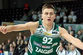 Edgaras Ulanovas Lithuanian basketball player