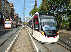 Edinburgh tram 03 first day of operation.JPG