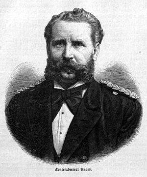 Eduard von Knorr - Anonymous portrait of Eduard von Knorr, ca. 1884