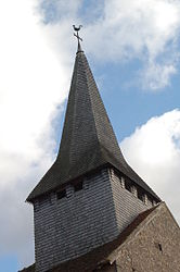 The church tower in Vitray