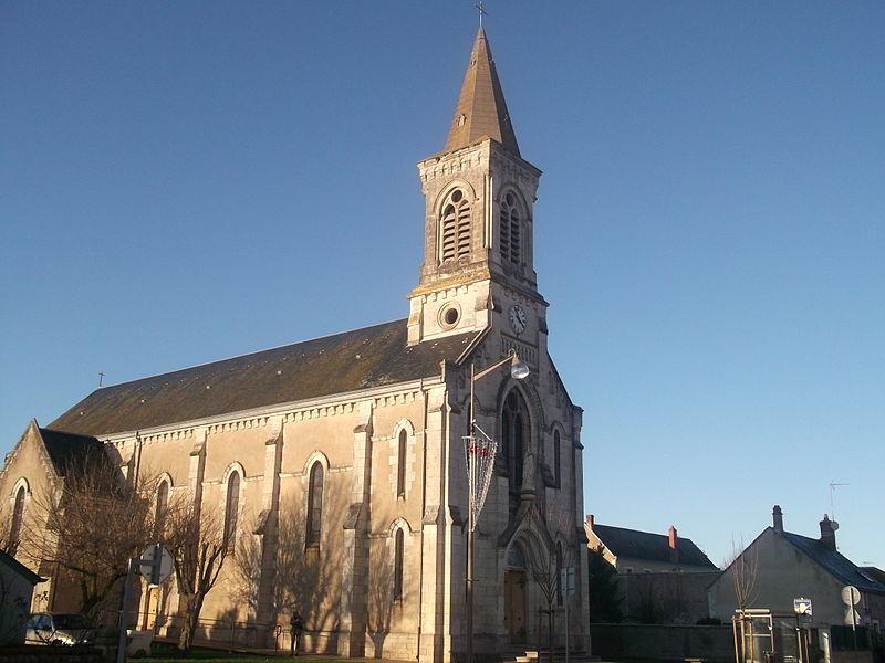 Eglise Notre-Dame-de-Lourdes de Saintes-Lizaigne