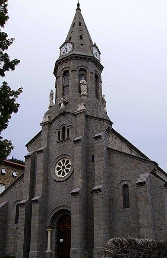 Chanéac - The church in Chanéac