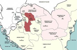 Egri Eyalet, Central europe 1683