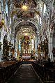 Ehemalige Kloster Stitfskirche Rottenbuch im Allgäu - Langschiff (9715577641).jpg