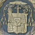 Wappendarstellung am Grabdenkmal