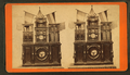 Eighth Wonder or Engle Clock, and its builder, from Robert N. Dennis collection of stereoscopic views.png