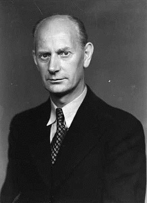 Norwegian parliamentary election, 1953 - Image: Einar Gerhardsen 1945