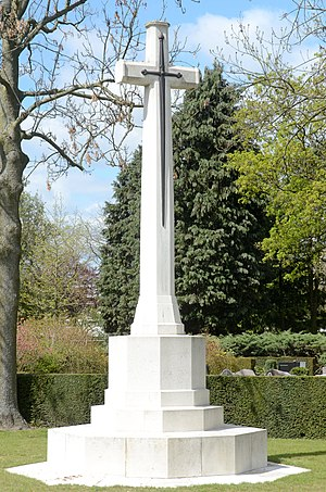 Cross of Sacrifice - Cross of Sacrifice at Eindhoven, Netherlands.