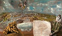 El Greco - View and Plan of Toledo - Google Art Project.jpg