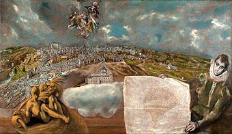 El Greco - View and Plan of Toledo - Google Art Project.jpg