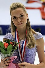 Elena Radionova at the Cup of China 2015 - Awarding ceremony 02.jpg