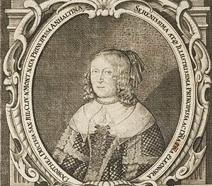 Eleonore Dorothea of Anhalt-Dessau - Image: Eleonora Dorothea of Anhalt Dessau duchess of Saxe Weimar 1