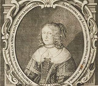 Eleonore Dorothea of Anhalt-Dessau Duchess of Saxe-Weimar by marriage