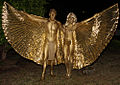 Eleven Night Club Bodypainting Gold (10097428785).jpg