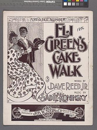 Cakewalk - Cakewalk dance, 1896