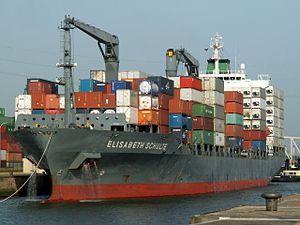 Elisabeth Schulte IMO 9231482 at Port of Antwerp, Belgium 28-Jun-2005.jpg