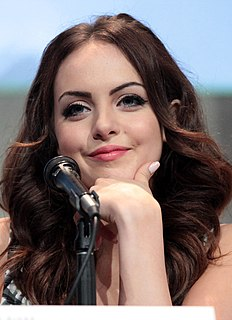 Elizabeth Gillies American actress and singer