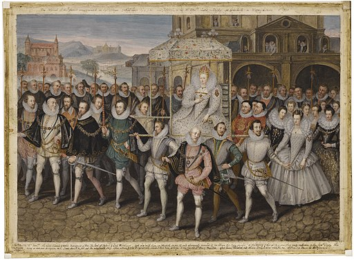 Elizabeth I, Procession Portrait.