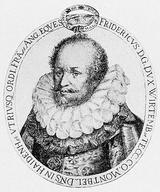 Frederick I, Duke of Württemberg - Engraving of Frederick I