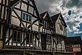 Elizabethian House on a cloudy day.jpg