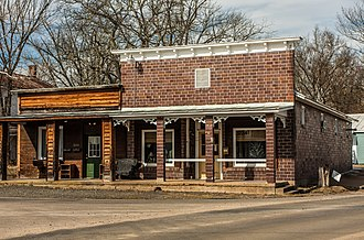 Catlett Historic District - Old commercial building at corner of Old Catlett Rd. and Elk Run Rd.