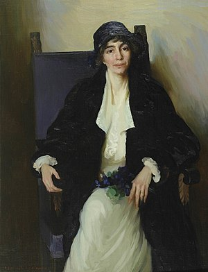 Ella Sophonisba Hergesheimer - Portrait of Madeline McDowell Breckinridge, 1920