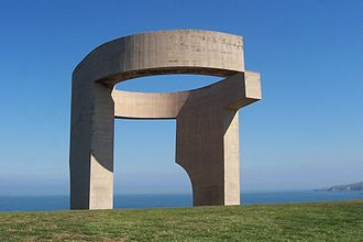 Gijón - The Eulogy to the Horizon of Eduardo Chillida, one of the most known symbols of Gijón.