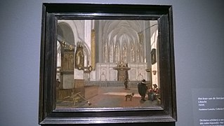 View of the Choir of the Janskerk in Utrecht
